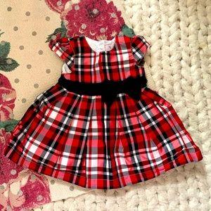 Carter's Plaid Party Dress